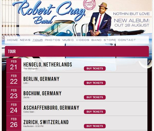 Robert Cray Band Hengelo 2013 Metropool